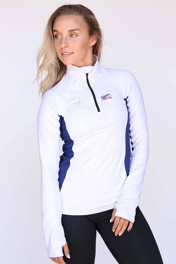 USR Women's Quarter Zip Grey