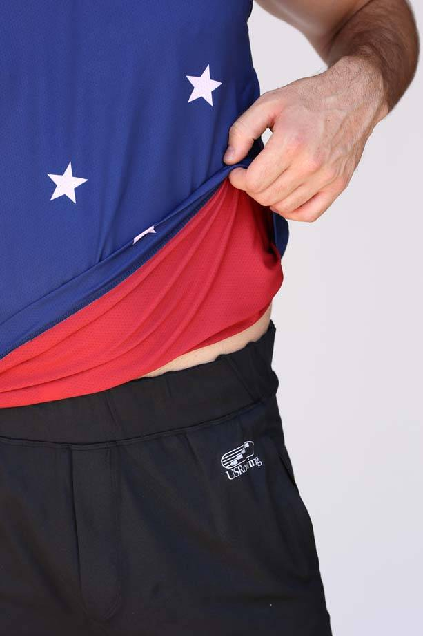 USR Men's Performance Singlet Stars