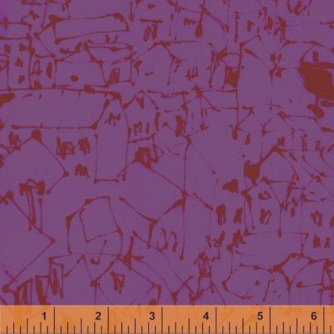 Marcia Derse - Art History 101 - Sunset Cezanne Rooftops / 50413-5