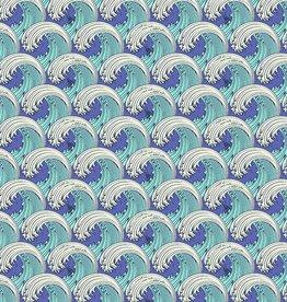 TP - Zuma - White Caps / Aquamarine