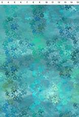 JY - Diaphanous - Teal Mist Enchanted Vines (5ENC3)