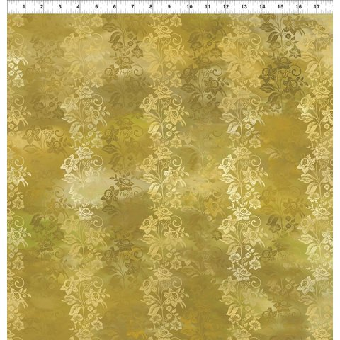 JY - Diaphanous - Gold Enchanted Vines (5ENC2)