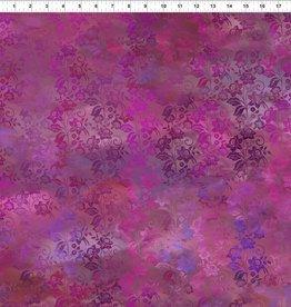 JY - Diaphanous - Magenta Enchanted Vines (5ENC4)