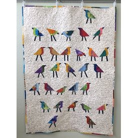Class - For the Birds Quilt by Sondra Von Burg