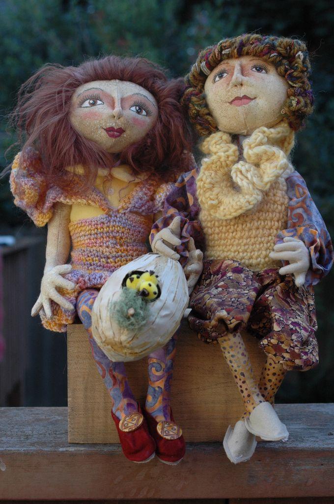 Class - The Basics of Doll Making; Elf by Sondra Von Burg