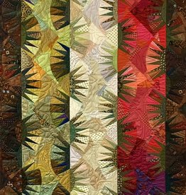 Class - Foundation Piecing / Silk & Salvage #3 - By Sue Fox & Julia  McLeod