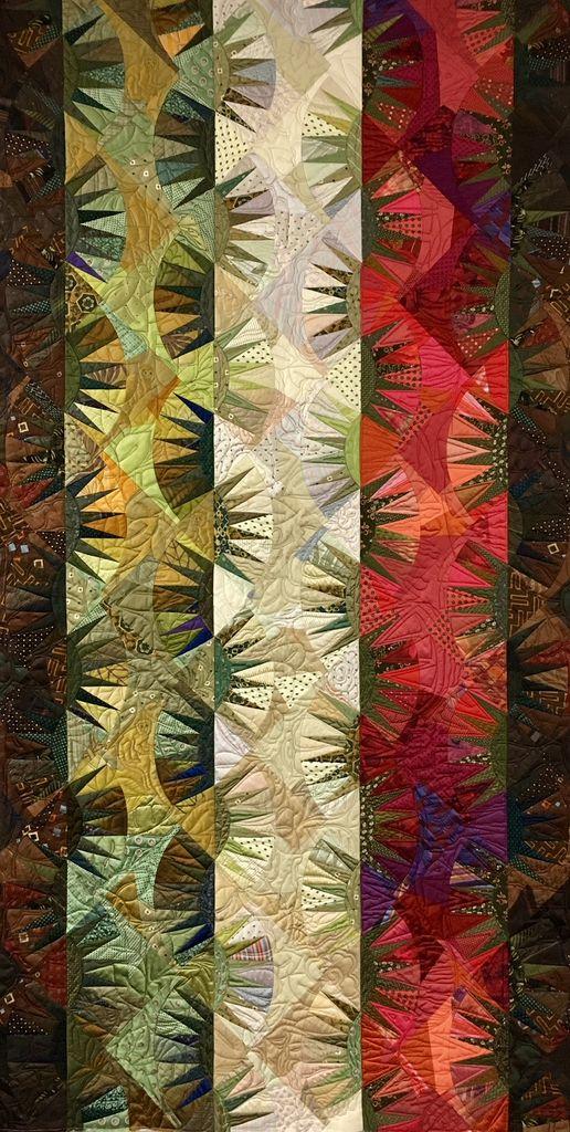 Class - Foundation Piecing / Silk & Salvage #3 - By Sue Fox & Julia  McLeod