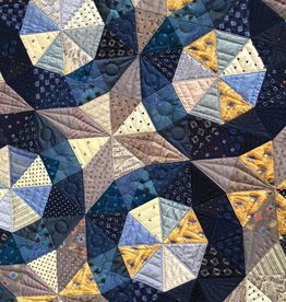 Class - Foundation Piecing / Silk & Salvage #2 - By Sue Fox & Julia  McLeod