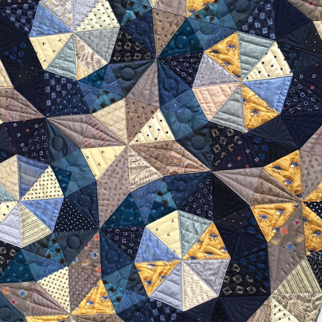 Class - Foundation Piecing / Silk & Salvage #2 - By Sue Fox & Julia  McLeod
