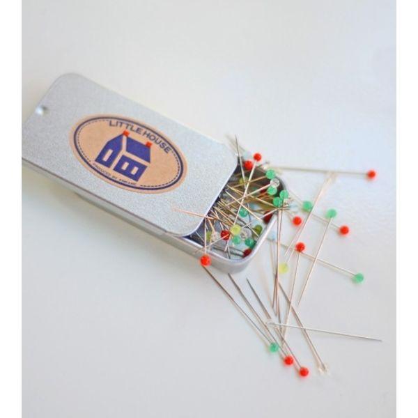 Little House Pins (Tin)