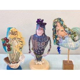 Workshop - Let's Face It! / Portrait Doll By Sondra Von Burg