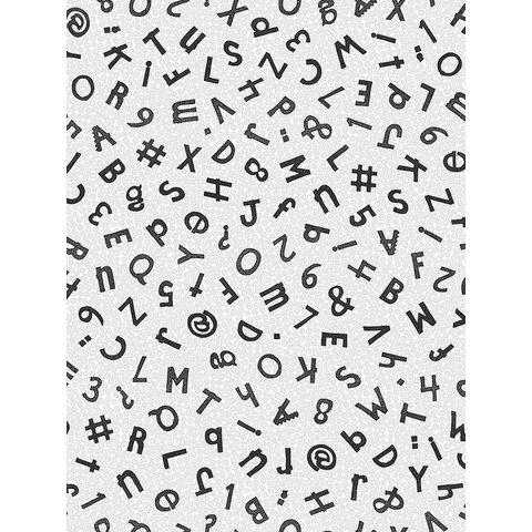 HOTM - Typewriter / Silver