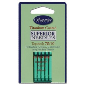 Superior - Titanium Topstitch Needles - 70/10