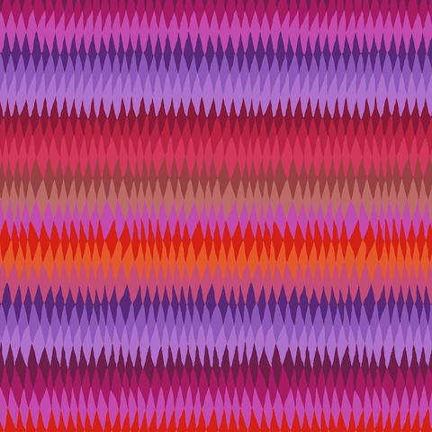 Kaffe - Diamond Stripe  –  PWGP170 - RED