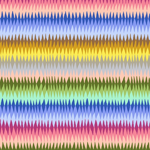 Kaffe - Diamond Stripe  –  PWGP170 - MULTI