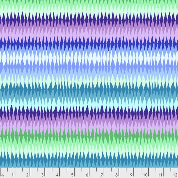 Kaffe - Diamond Stripe  –  PWGP170 - BLUE