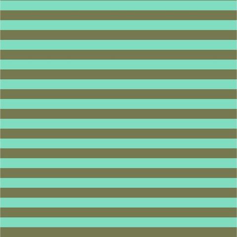 Tula Pink - Stripe / PWTP069 /  Agave