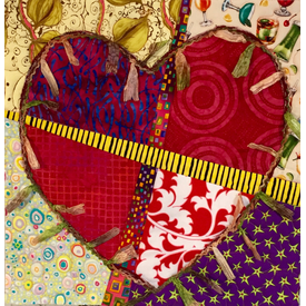 Workshop -  Mended Heart Quilt By Sondra Von Burg