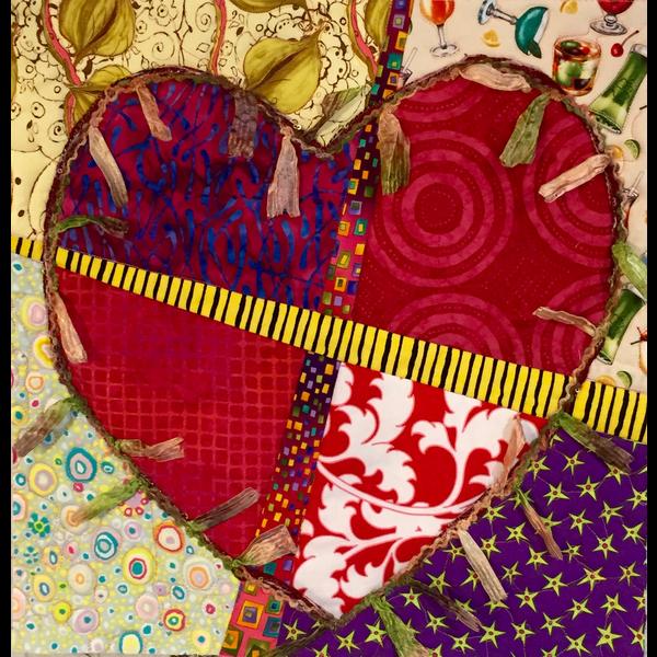 Workshop -  Mended Heart Quilt By Sondra Von Burg