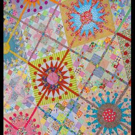 "Workshop - Jen Kingwell Pattern ""Queens Cross"" by Sondra Von Burg"