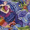 Clothworks - Sea Goddess  /  y2598-86m