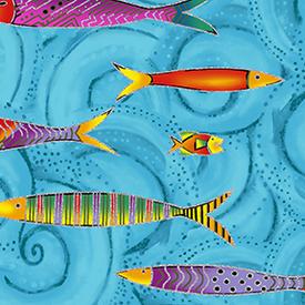 Clothworks - Sea Goddess  /  y2600-98m