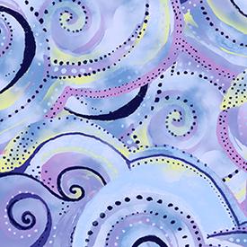 Clothworks - Sea Goddess  /  y2602-84