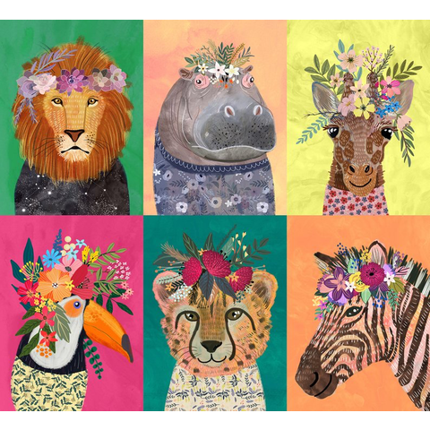 Blend - Junglemania Mixed Animals / 129.102.01.1