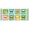 QT - Fly Free Butterfly Panel / 27083 -X