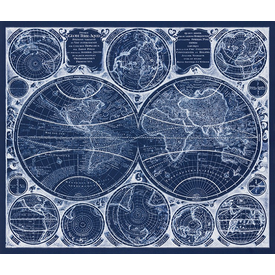 RK - AWUD-18372-387 Blueprint / 36x44 inch Panel