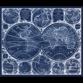 RK - AWUD-18372-387 Blueprint / 36x44 inch Panel