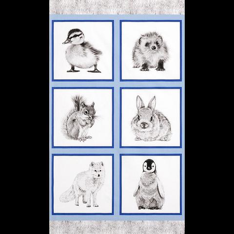 RK - Animal Kingdom / AHF-17591-304 / 24x44 inch Panel