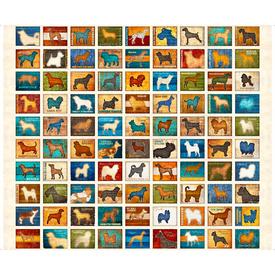 QT / Love Dogs / 26935 -E / 36x44 inch Panel