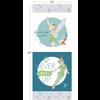 RK - Peter Pan + Tinker Bell /  85330102P #1/ 24x44 inch Panel