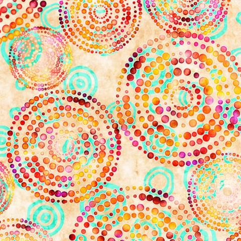 QT - Rhythm / Dotted Circles /  27101 -E