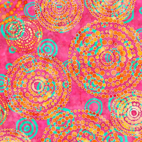 QT - Rhythm / Dotted Circles /  27101 -P