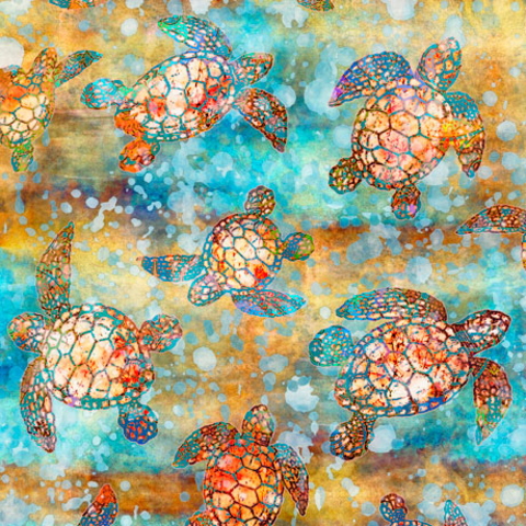 QT -  Oceana / Sea Turtles /  27089 -X