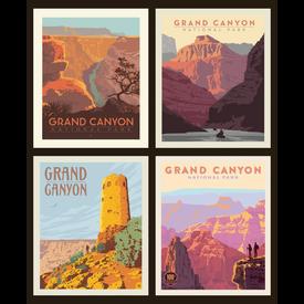 RB - National Park Pillow Panel - GRAND CANYON