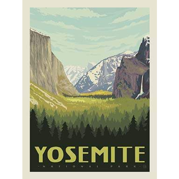 RB - YOSEMITE - National Park Panel