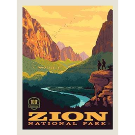 RB - ZION - National Park Panel