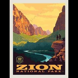 RB - ZION - National Park Panel
