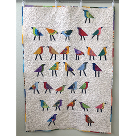 Class - For the Birds Quilt by Sondra Von Burg