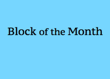 Jen Kingwell Block Of The Month
