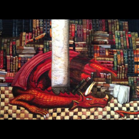 Class - Make Your Own Dragon Applique by Sondra Von Burg