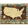 RB - Full Map - National Park Posters