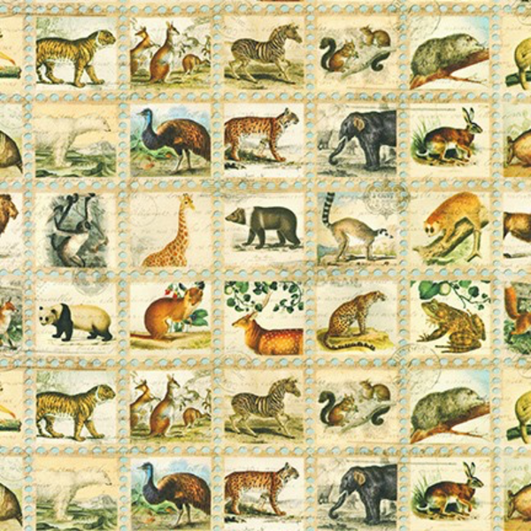 RK - Library of Rarities - 19596-200 - Stamps - Animals