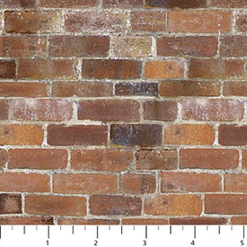 Northcott - Naturescapes - 21395-38 - Brick