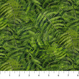 Northcott - Naturescapes - 21404-76 - Ferns