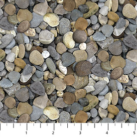 Northcott - Naturescapes - 21394-93 - Pebbles