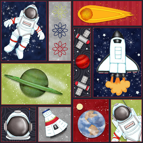 HG -  Space Patch - 1803-78 Multi